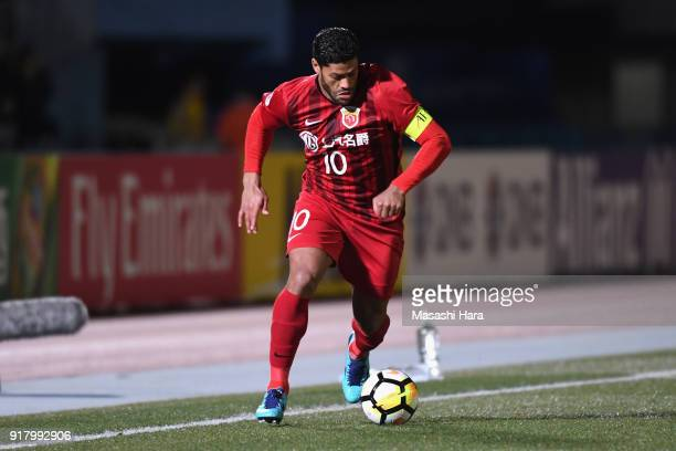 Hulk of Shanghai SIPG in action during the AFC Champions League Group F match between Kawasaki Frontale and Shanghai SIPG at Todoroki Stadium on...