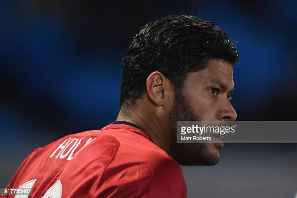 Hulk of Shanghai SIPG is seen during the AFC Champions League Group F match between Kawasaki Frontale and Shanghai SIPG at Todoroki Stadium on...