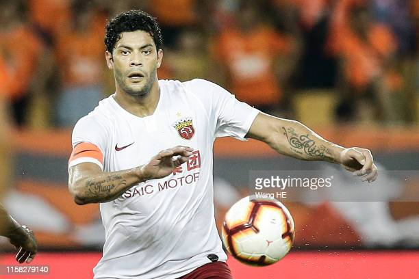 WUHAN CHINA JULY28 Hulk of Shanghai SIPG reacts during 2019 China Super League at Wuhan Wuhuan Sports Center on July 28 2019 in Wuhan China
