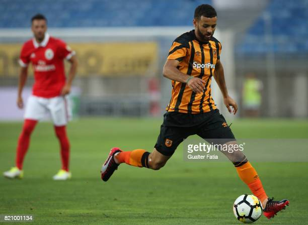 Hull City midfielder Kevin Stewart in action during the Algarve Cup match between SL Benfica and Hull City at Estadio Algarve on July 22 2017 in Faro...