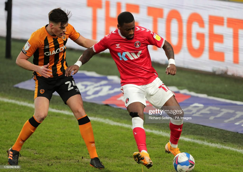 Hull City v Charlton Athletic - Sky Bet League One - KCOM Stadium : News Photo