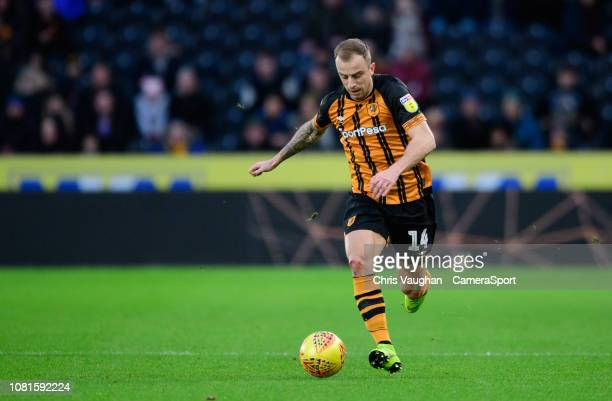 Hull City's Kamil Grosicki during the Sky Bet Championship match between Hull City and Sheffield Wednesday at KCOM Stadium on January 12 2019 in Hull...