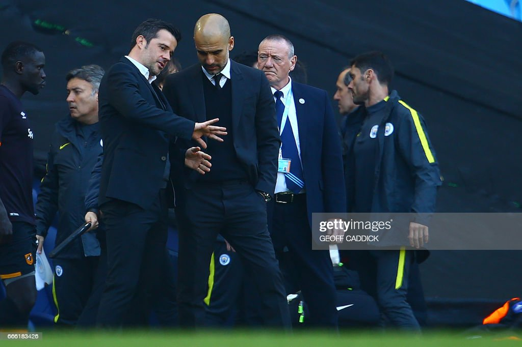FBL-ENG-PR-MAN CITY-HULL : News Photo
