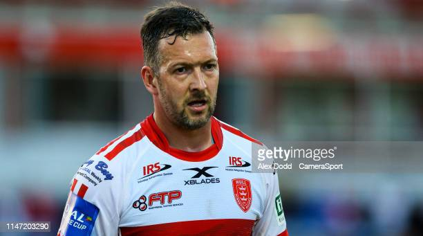 Hull Kingston Rovers' Danny McGuire during the Coral Challenge Cup Quarter-Final match between Hull Kingston Rovers and Warrington Wolves at Craven...