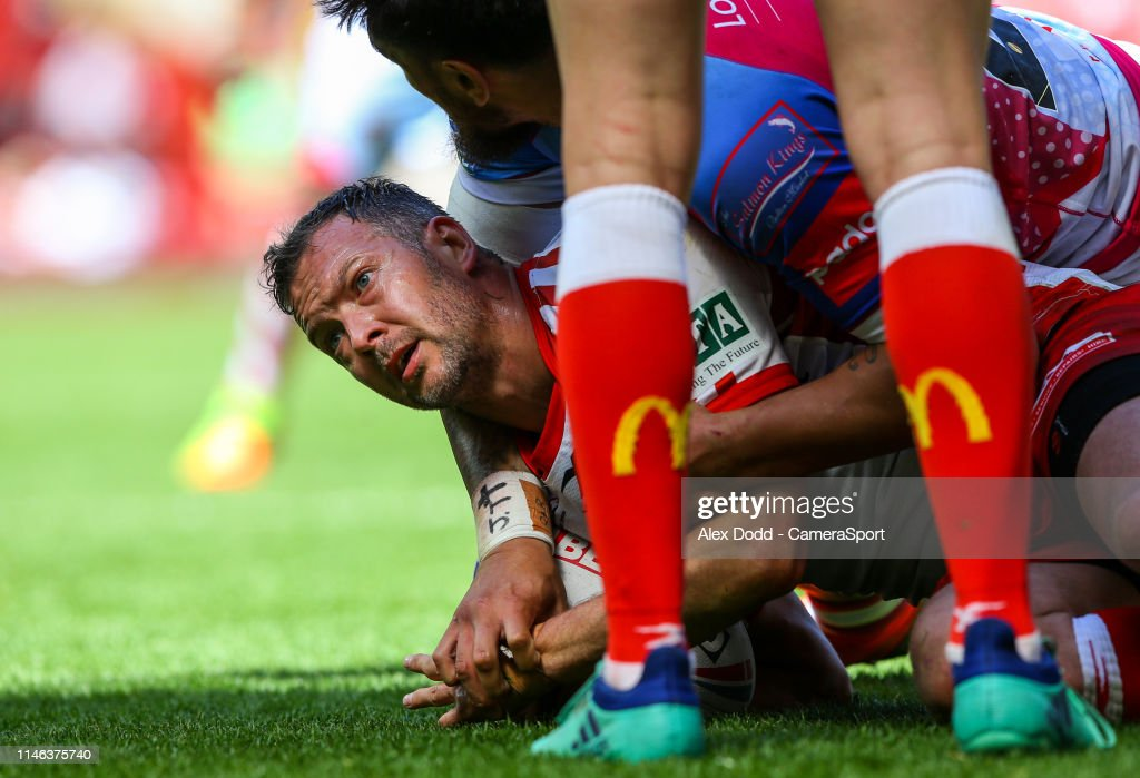 Salford Red Devils v Hull Kingston Rovers - Betfred Super League: Dacia Magic Weekend : News Photo