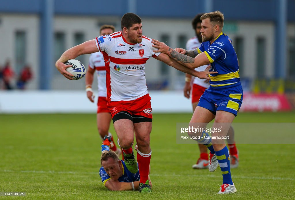 Hull Kingston Rovers v Warrington Wolves - Coral Challenge Cup : News Photo