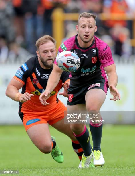 Hull KR's Adam Quinlan during the Betfred Super League match at the MendAHose Jungle Casteford
