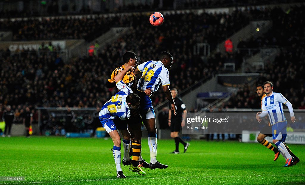 Hull City v Brighton & Hove Albion - FA Cup Fifth Round Replay