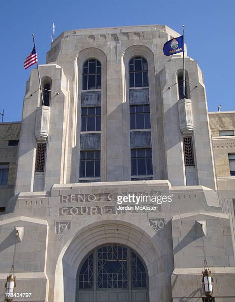 CONTENT] W E Hulse of Hutchinson Kansas designed this Art Deco courthouse built in 1930 It's unique for a Kansas courthouse
