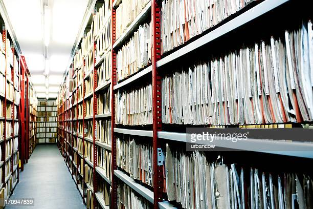 hulton archive filing. - archival stock pictures, royalty-free photos & images