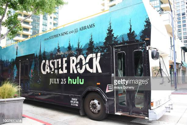 Hulu's 'Castle Rock' activations at ComicCon 2018 on July 20 2018 in San Diego California