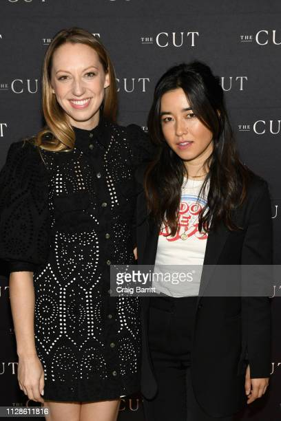 Hulu's Pen15 Cocreators and stars Anna Konkle and Maya Erskine attend The Cut's How I Get It Done at 1 Hotel Brooklyn Bridge on March 4 2019 in...