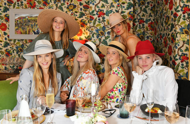 GBR: Royal Ascot Ladies Day Lunch On Behalf Of Helen Kaminski At The Fitzdares Club