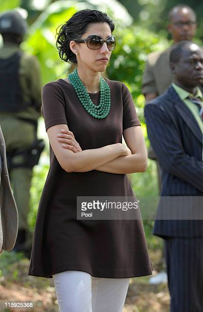 Huma Abedin an aide to US Secretary of State Hillary Rodham Clinton and wife of US Rep Anthony Weiner attends an event at the Upendo Women's...