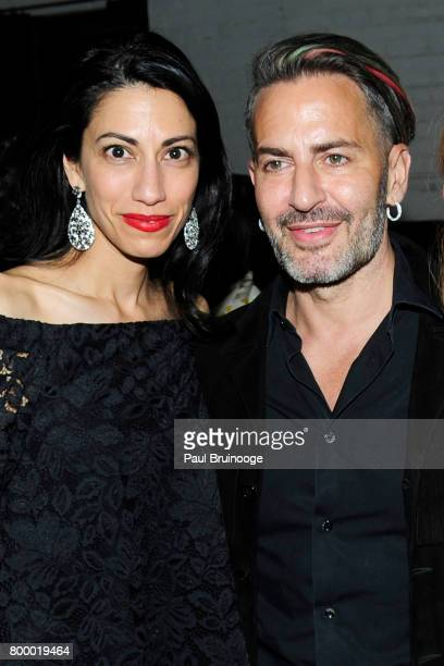 Huma Abedin and Marc Jacobs attend 'The Beguiled' New York Premiere After Party at Metrograph on June 22 2017 in New York City