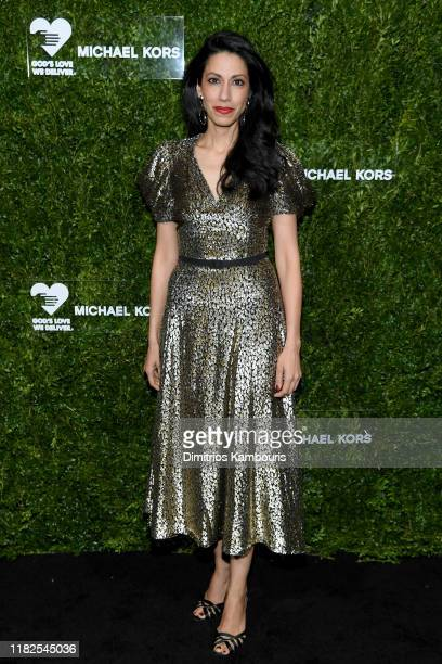 Huma Abedin attends God's Love We Deliver Golden Heart Awards on October 21 2019 in New York City