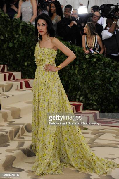 Huma Abedin attends Heavenly Bodies Fashion The Catholic Imagination Costume Institute Gala at the Metropolitan Museum of Art in New York City