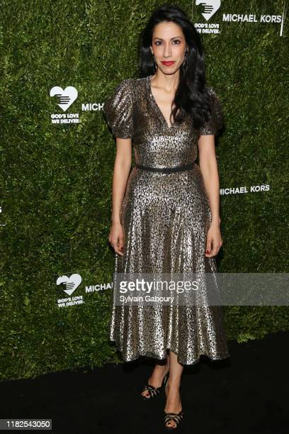 Huma Abedin attends the 13th Annual Golden Heart Awards at Cipriani South Street on October 21 2019 in New York City
