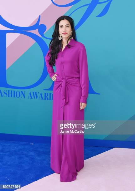 Huma Abedin attends the 2017 CFDA Fashion Awards at Hammerstein Ballroom on June 5 2017 in New York City