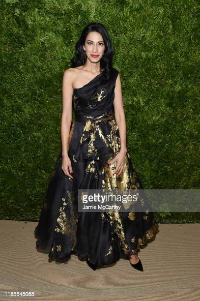 Huma Abedin attends the CFDA / Vogue Fashion Fund 2019 Awards at Cipriani South Street on November 04 2019 in New York City