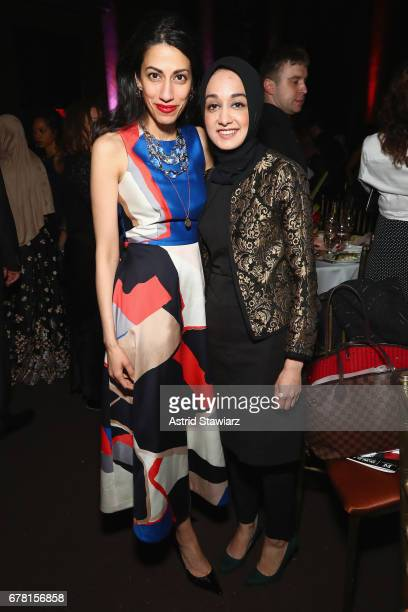 Huma Abedin attends the Ms Foundation for Women 2017 Gloria Awards Gala After Party at Capitale on May 3 2017 in New York City