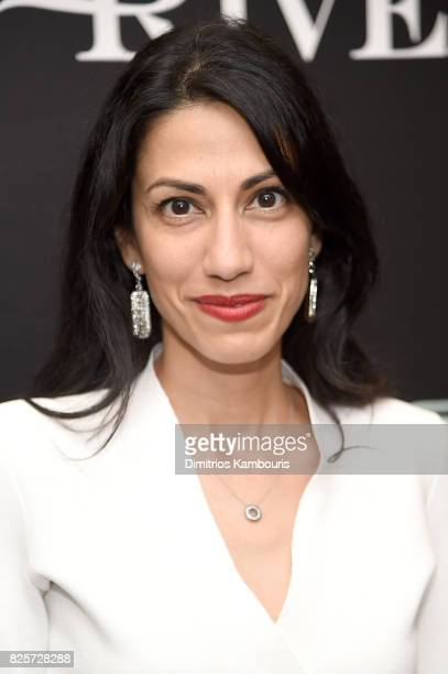 Huma Abedin attends the Screening Of Wind River at The Museum of Modern Art on August 2 2017 in New York City