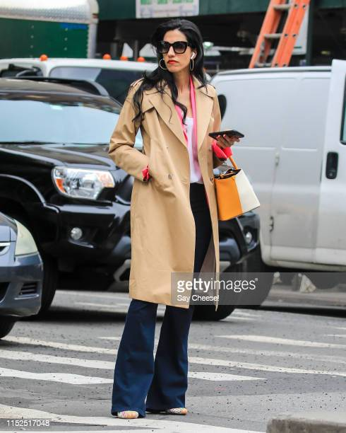 Huma Abedin is seen on May 29 2019 in New York City