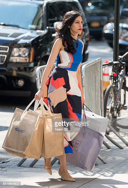 Huma Abedin seen on June 20 2016 in New York City