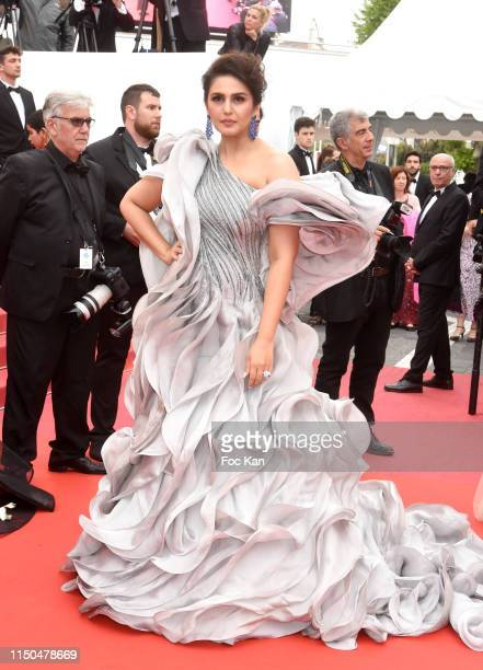 Huma Qureshi attends the screening of A Hidden Life during the 72nd annual Cannes Film Festival on May 19 2019 in Cannes France