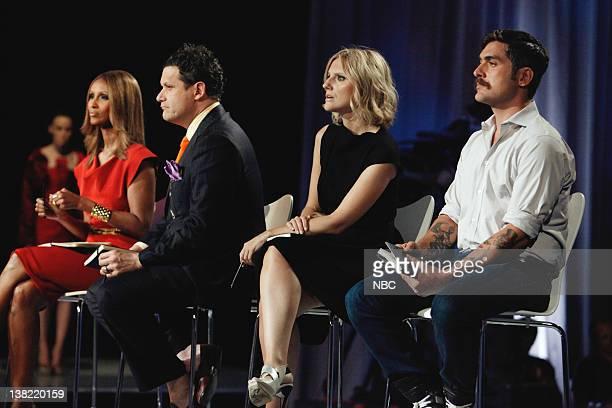 "Human Body"" Episode 202 -- Pictured: Judges Iman, Isaac Mizrahi, Laura Brown, Douglas Friedman"