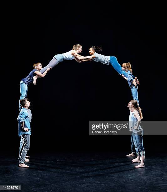 human bridge - man made structure stock pictures, royalty-free photos & images