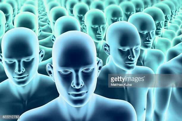 human clones - cloning stock pictures, royalty-free photos & images