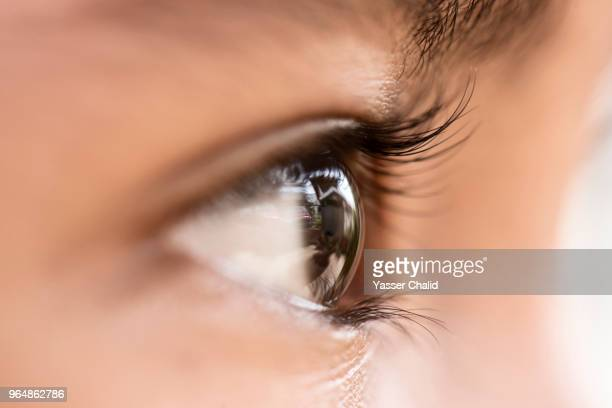 human eye - black eye stock pictures, royalty-free photos & images