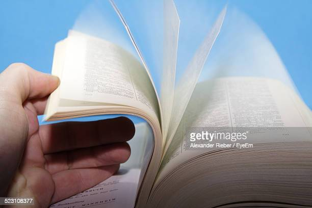 Human Hand Opening Book