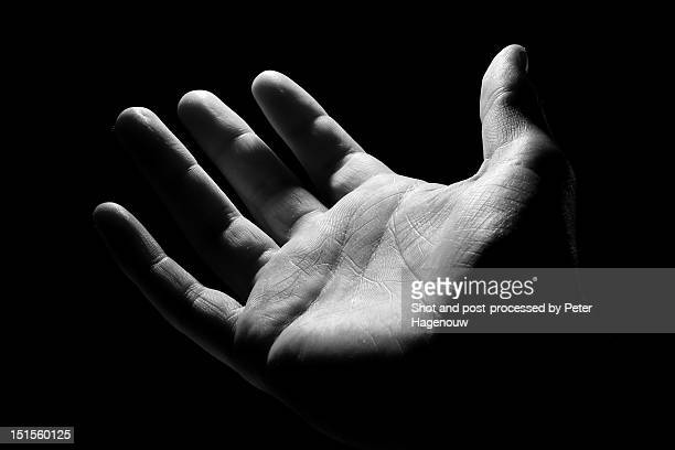 human hand - open hand stock pictures, royalty-free photos & images