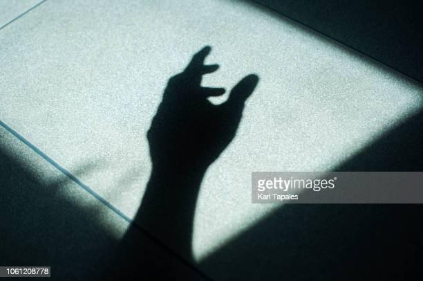 Human hand sillhouette