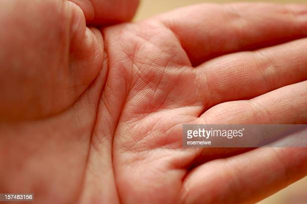 human palm - open hand stock pictures, royalty-free photos & images