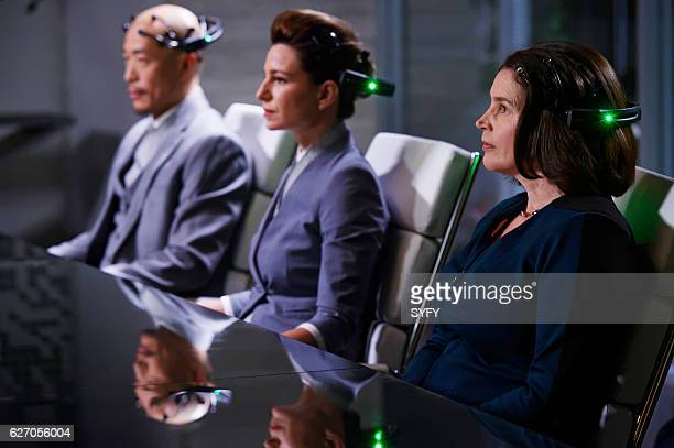 INCORPORATED Human Resources Episode 103 Pictured Julia Ormond as Elizabeth Krauss