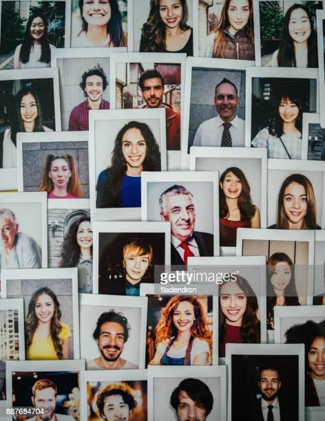 de recursos humanos  - idade variada - fotografias e filmes do acervo