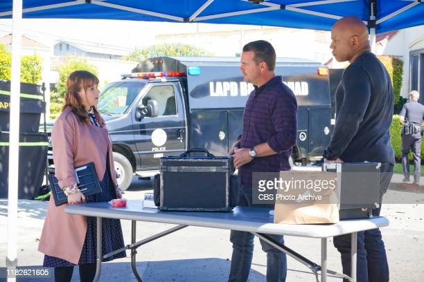 Human Resources Pictured Renée Felice Smith Chris O'Donnell and LL COOL J After a Navy lieutenant disappears from the scene of a car accident the...