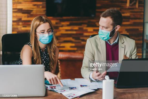 human resources recruiting new employees, covid-19 pandemic - candidate stock pictures, royalty-free photos & images