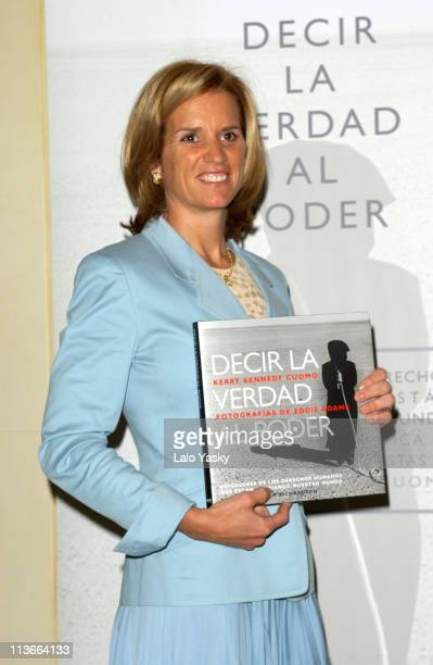 Human Rights activist and Daughter of Robert Kennedy Kerry Kennedy Cuomo presents her Book Decir la Verdad Sobre el Poder