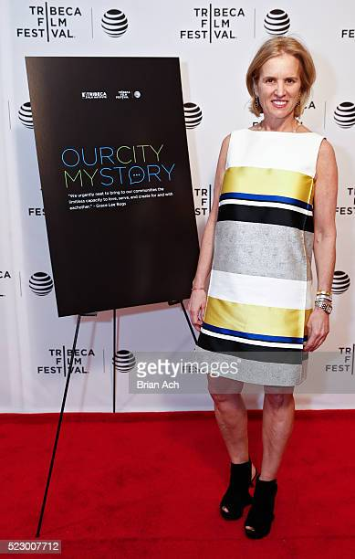 """Human rights activist and writer Kerry Kennedy appears at the """"Our City My Story"""" Screening during the 2016 Tribeca Film Festival at Chelsea Bow Tie..."""