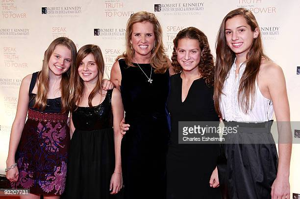 Human rights activist Kerry Kennedy attends the RFK Center Ripple of Hope Awards dinner at Pier Sixty at Chelsea Piers on November 18 2009 in New...