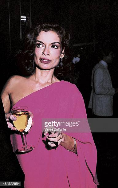 Human rights actvist and sometime actress Bianca Jagger attends an event circa 1978 in New York City New York