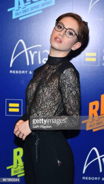 Human Rights Campaign Las Vegas Youth Ambassador Brendan Jordan attends the Human Rights Campaign's 13th annual Las Vegas Gala at the Aria Resort...