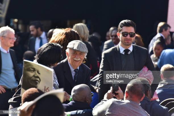 Human rights lawyer George Bizos during the 16th annual Nelson Mandela lecture at Wanderers Stadium on July 17 2018 in Johannesburg South Africa The...