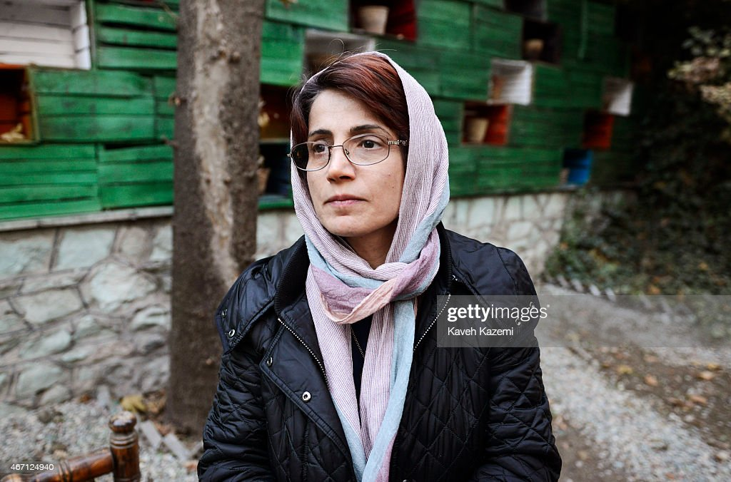 Nasrin Sotoudeh Portrait Session : News Photo