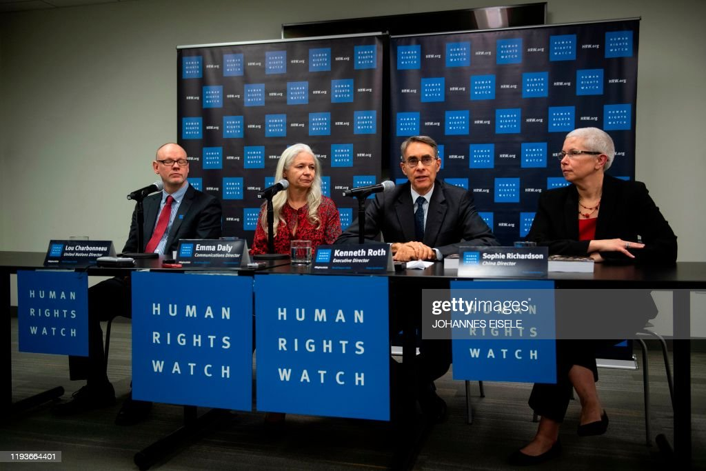 US-rights-diplomacy-HRW : News Photo