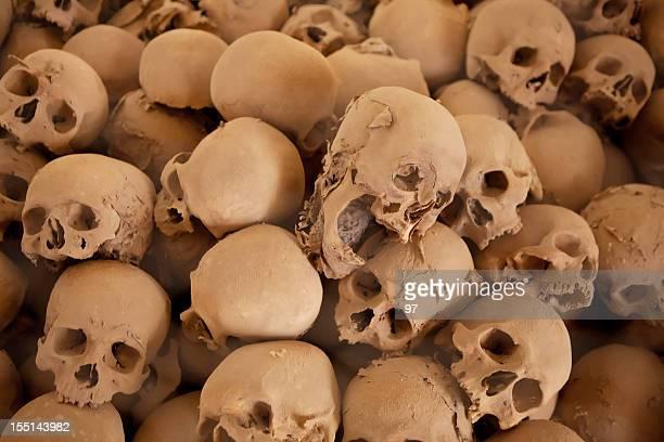 crânio humano na camada de poeira - monte sinai imagens e fotografias de stock